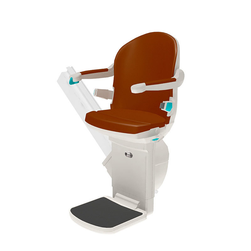 Perch seat for curved stairlift | Handicare Stairlifts UK
